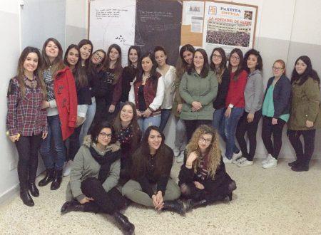 Le ragazze del De Fazio e l'8 marzo
